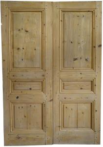 Porte d 39 entr e d 39 interieur porte de placard ancienne restauration fabrication for Porte de placard bois