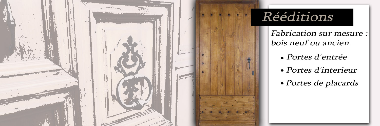 Porte d 39 entr e d 39 interieur porte de placard ancienne - Porte de cave sur mesure ...