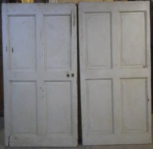 Portes de communications anciennes pleines 1 vantail vente de portes ancien - Portes interieures anciennes ...