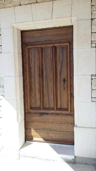 Placard en pin xix eme vente de portes anciennes et for Porte 3 panneaux