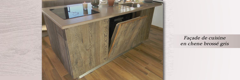 Cuisine vieux bois u0026 gencement gerard fabrication de for Fabrication meuble de cuisine