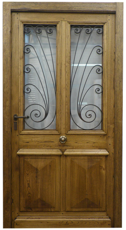 fabrication de porte d 39 entree avec grilles anciennes vente de portes anciennes et contemporaines. Black Bedroom Furniture Sets. Home Design Ideas