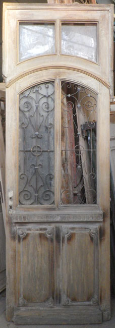 portes d 39 entree anciennes ajourees un vantail vente de portes anciennes et contemporaines. Black Bedroom Furniture Sets. Home Design Ideas