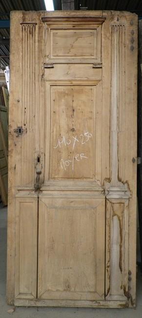 portes d 39 entree anciennes pleines 2 vantaux vente de. Black Bedroom Furniture Sets. Home Design Ideas
