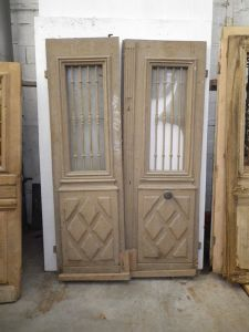 portes d 39 entree anciennes ajourees 2 vantaux vente de portes anciennes et contemporaines. Black Bedroom Furniture Sets. Home Design Ideas