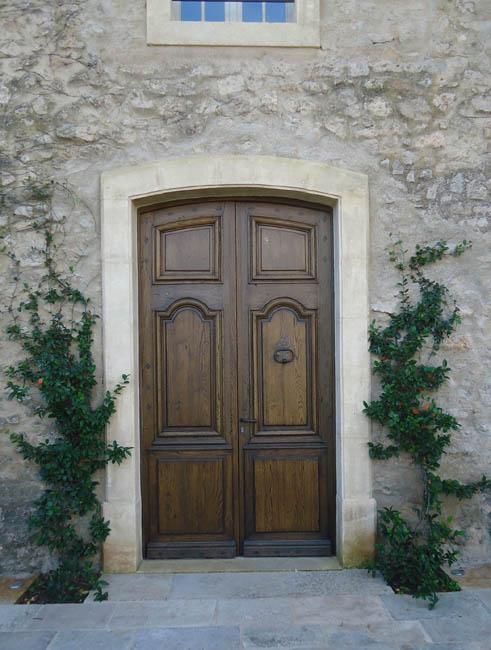 Porte d 39 entr e ancienne en ch ne 2 vantaux for Isolation porte d entree ancienne