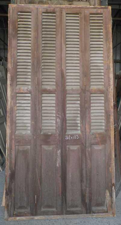 Porte placard persienne bois id es de conception sont int ressants votre d cor for Portes placard persiennes