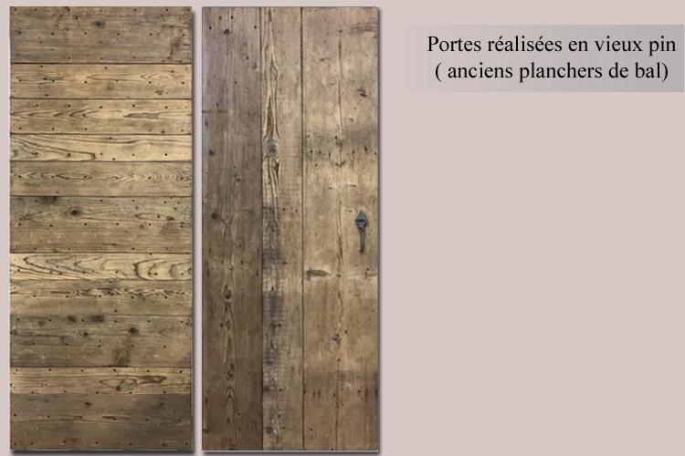 Porte d 39 entr e d 39 interieur porte de placard ancienne - Porte de placard battant en bois ...