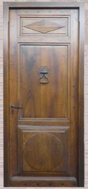 Portes d 39 entr e vente de portes anciennes et contemporaines for Isolation porte d entree ancienne