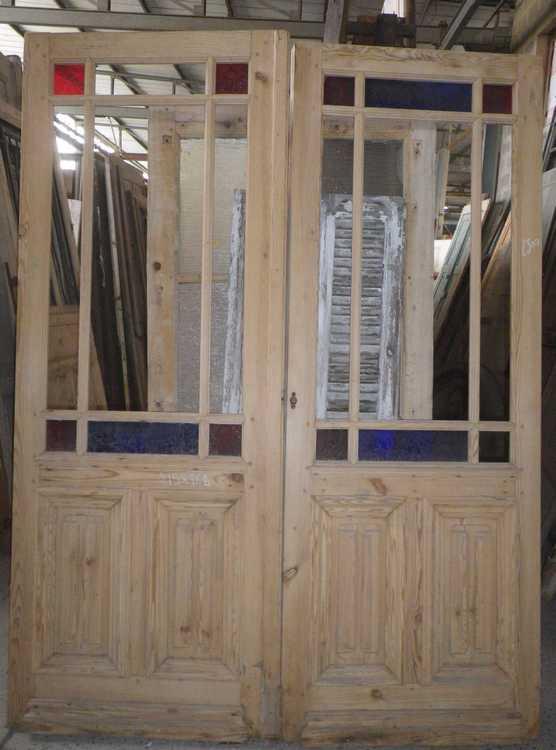 C2va12 porte d 39 interieur 2 vantaux - Porte interieur double vantaux ...